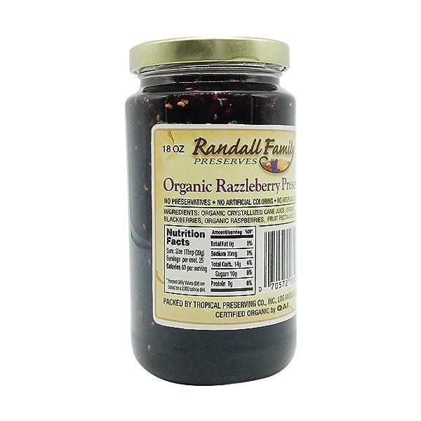 Organic Razzleberry Preserve, 18 oz 2