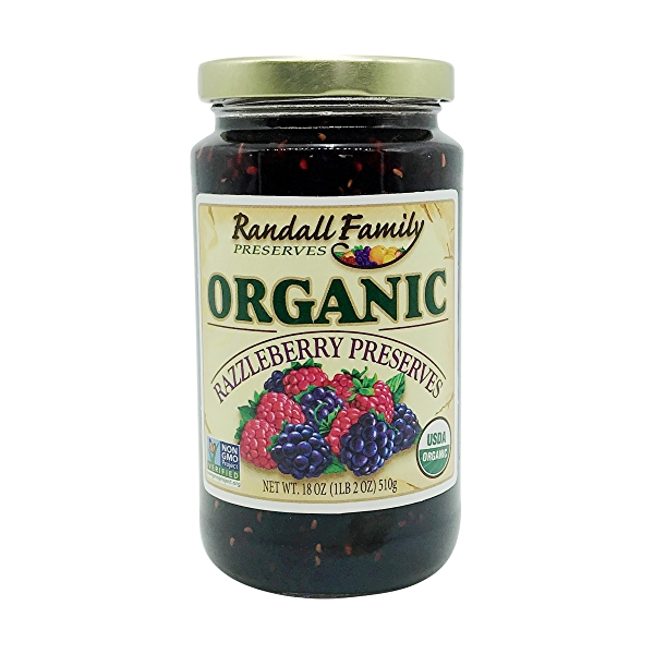 Organic Razzleberry Preserve, 18 oz 1