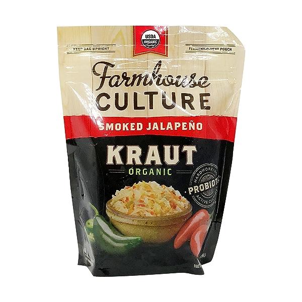 Organic Smoked Jalapeno Kraut 1