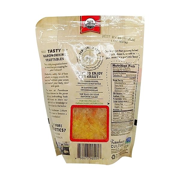 Organic Smoked Jalapeno Kraut 2