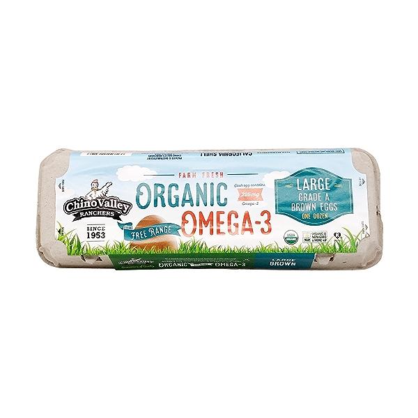 Organic Omega 3 Large Grade A Eggs 1