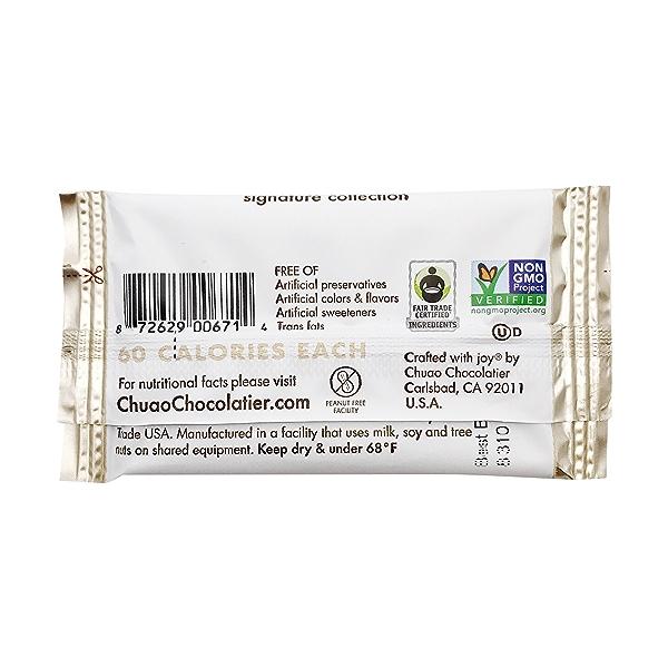 Mini Salted Crunch Chocolate Bar, 0.39 oz 2