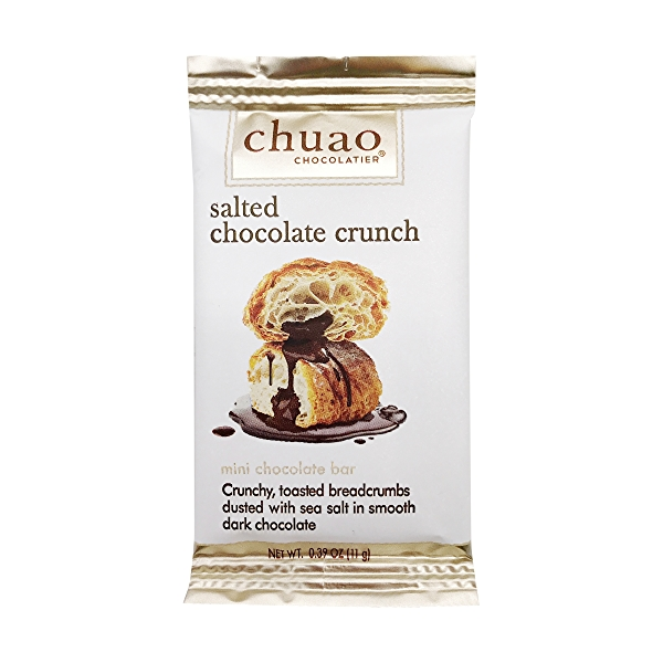 Mini Salted Crunch Chocolate Bar, 0.39 oz 1