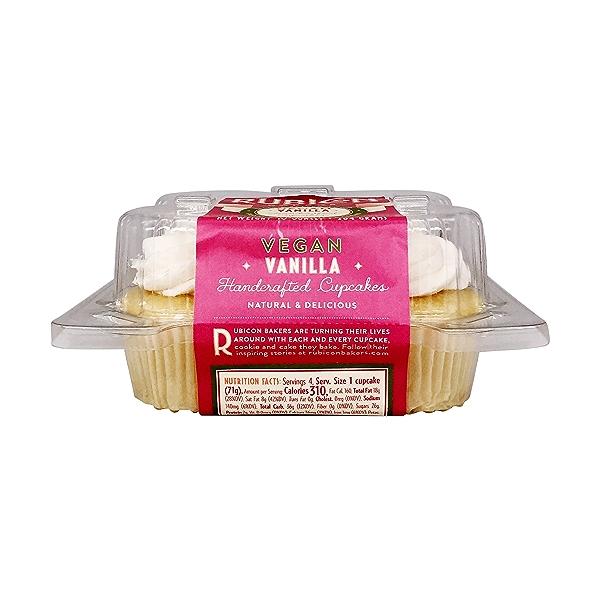 Vanilla Cupcakes 4ct, 10 oz 2