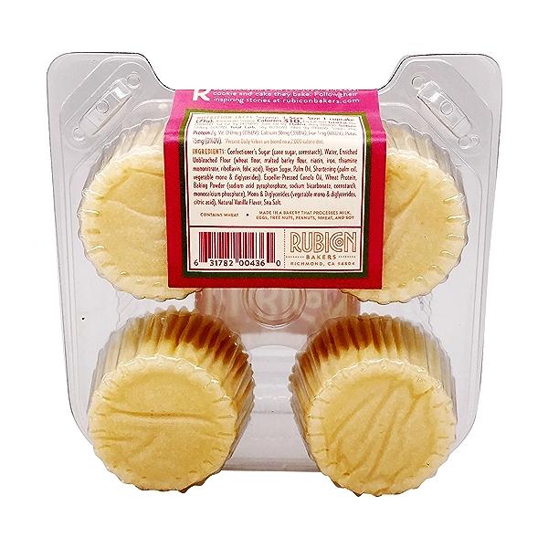 Vanilla Cupcakes 4ct, 10 oz 3