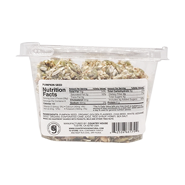 Pumpkin Seed Mix, 6.5 oz 2