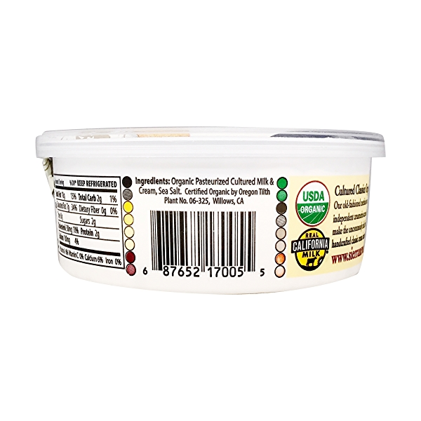 Organic Cream Cheese, 8 oz 3