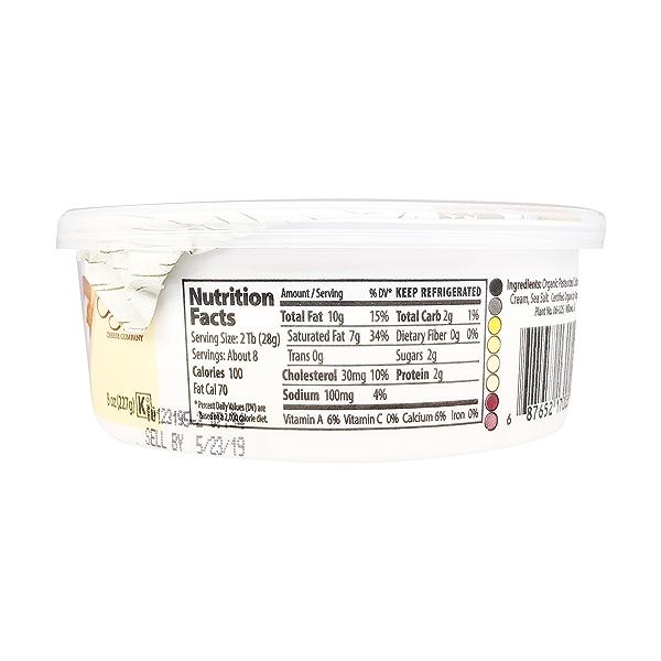Organic Cream Cheese, 8 oz 2