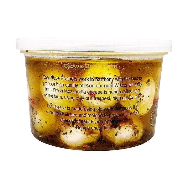 Marinated Fresh Mozzarella Ciliegine 4