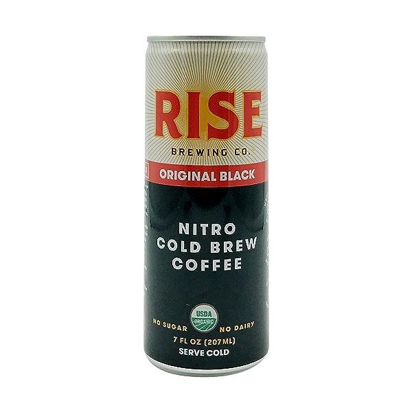 Organic Original Black Nitro Cold Brew Coffee, 7 fl oz 1