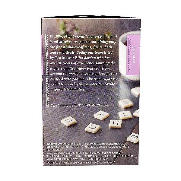 Organic Earl Grey Black Tea, 1.32 oz 2