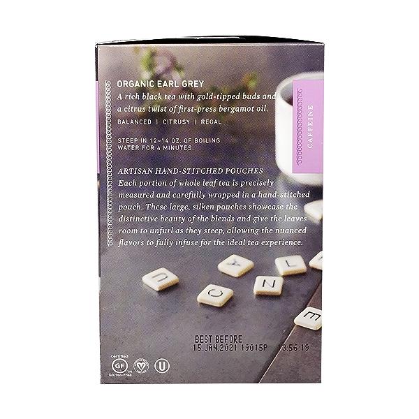 Organic Earl Grey Black Tea, 1.32 oz 4