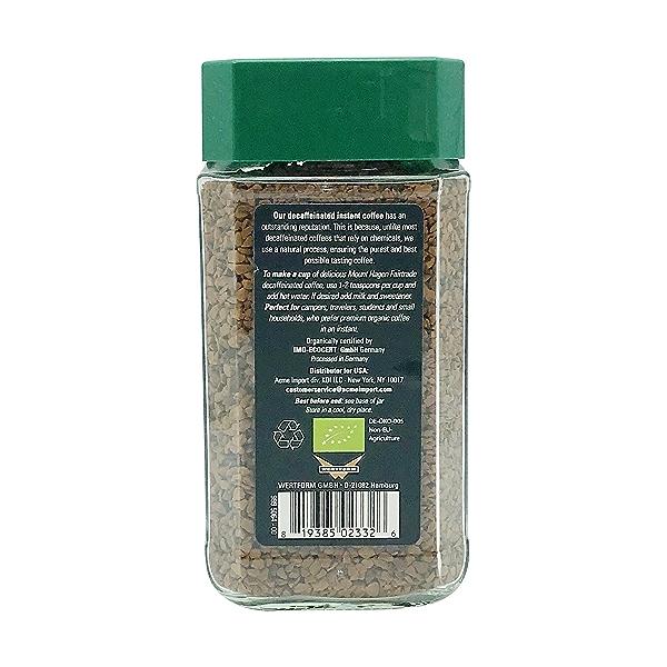 Organic Freeze Dried Decaf Jars, 3.53 oz 2