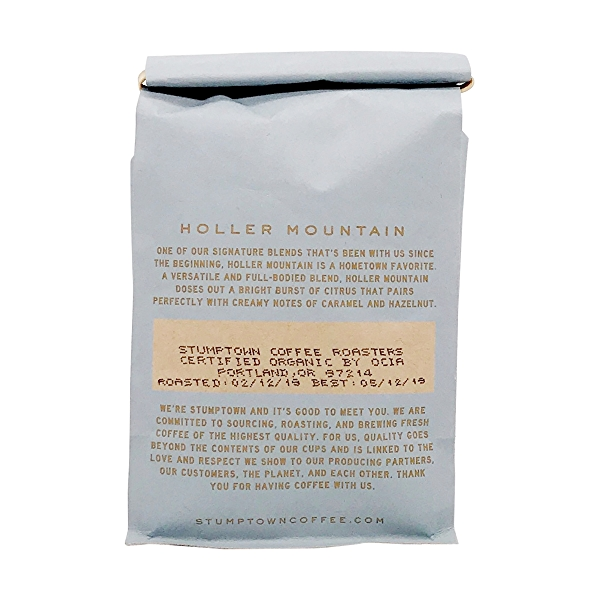 Organic Holler Mountain Whole Bean Coffee, 12 oz 2