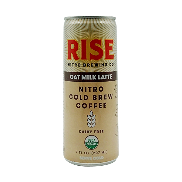 Organic Oat Milk Latte Nitro Cold Brew Coffee, 7 fl oz 1