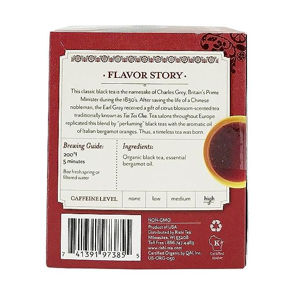 Earl Grey Organic Black Tea, 1.74 oz 2