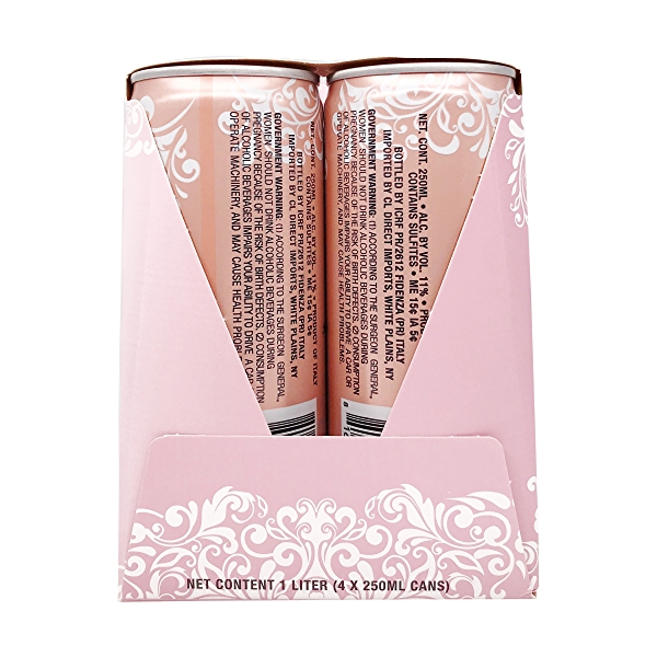 Sparkling Rose 250ml 4pk Cans 4