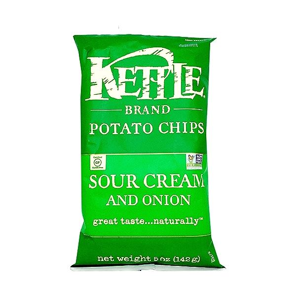 Sour Cream And Onion Potato Chips, 5 oz 1