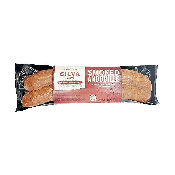 Smoked Andouille Pork Sausage 1