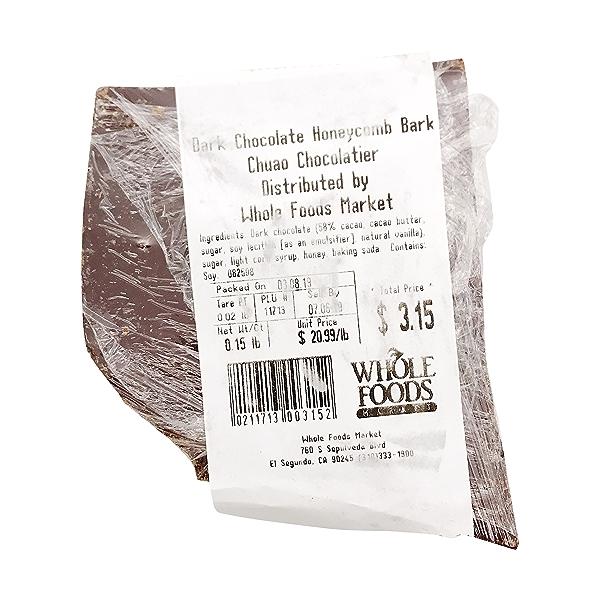 Honeycomb Dark Chocolate Bark 2