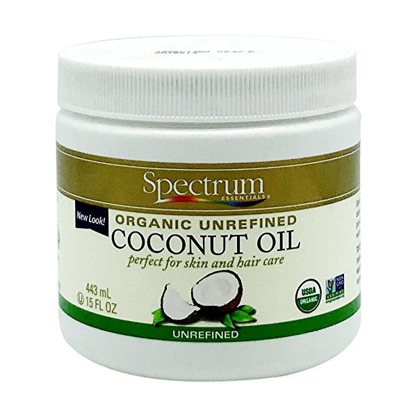 Organic Unrefined Coconut Oil, 15 fl oz 1