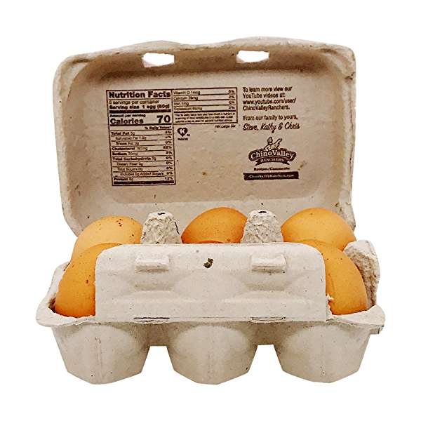 Large Grade A Brown Eggs (6 Pk) 3