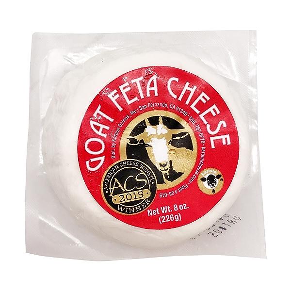 Goat Feta Basket Cheese, 8 oz 1