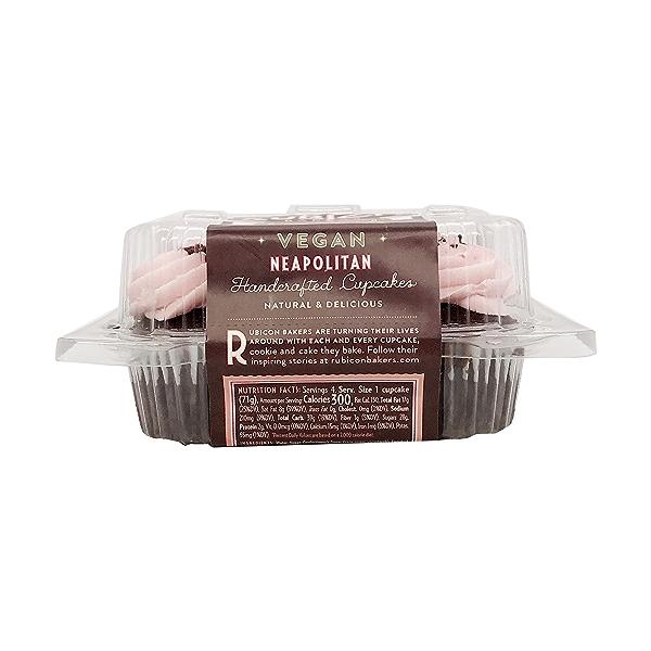 Neapolitan Cupcakes 4ct, 10 oz 2
