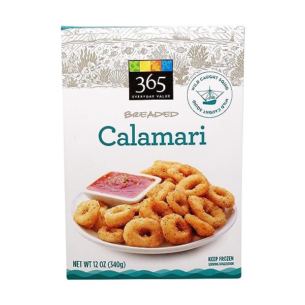 Lightly Breaded Calamari 1