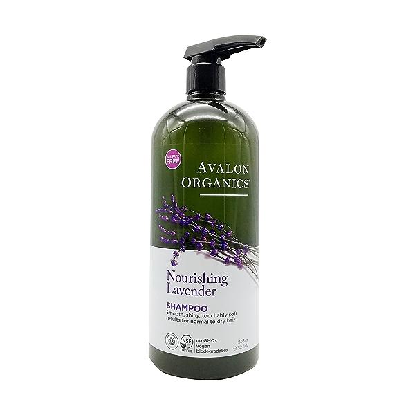 Organic Lavender Shampoo, 32 fl oz 1