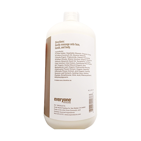 Unscented Everyone Lotion, 32 fl oz 4