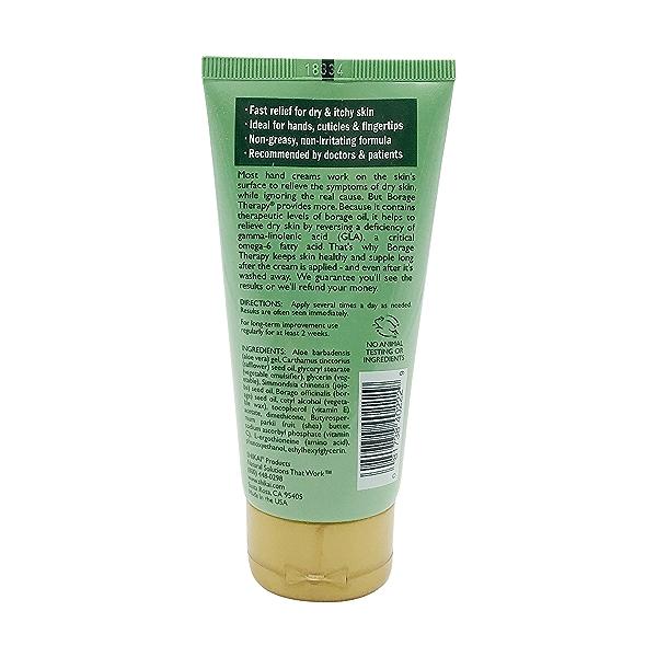 Borage Therapy Unscentedhand Cream, 2.5 fl oz 2