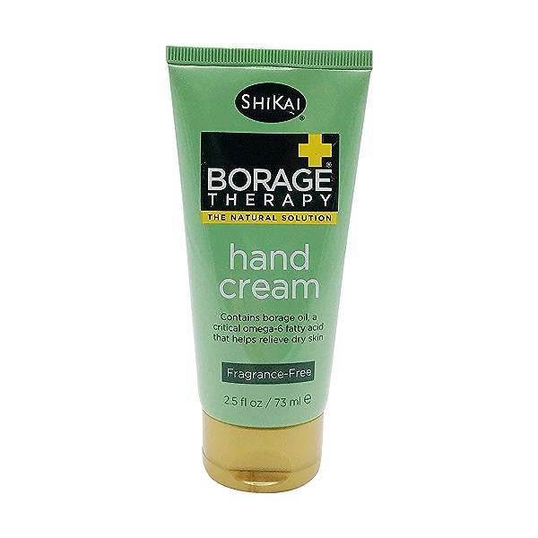 Borage Therapy Unscentedhand Cream, 2.5 fl oz 1