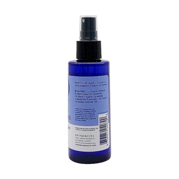 Organic Lavender Ddorant Spray, 4 fl oz 2