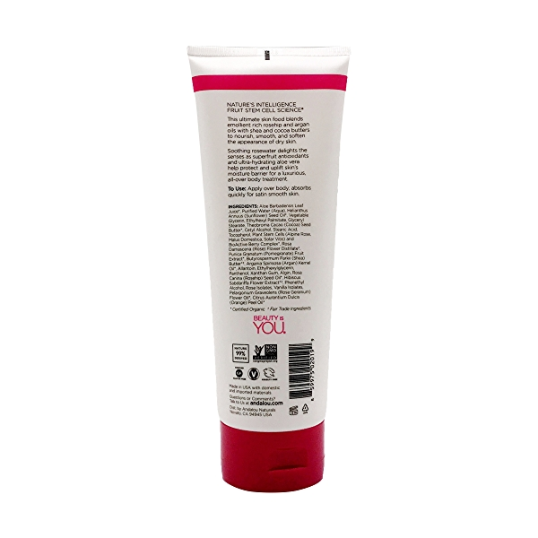 1000 Roses Soothing Body Lotion, 8 fl oz 2