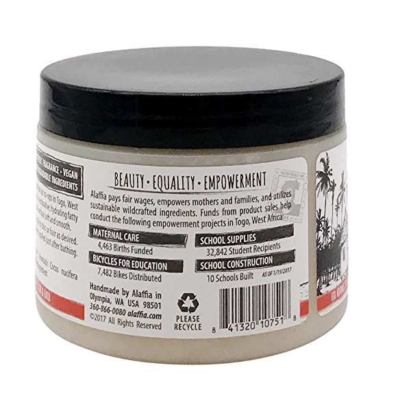 Pure African Coconut Oil For Hair & Skin, 11 oz 3