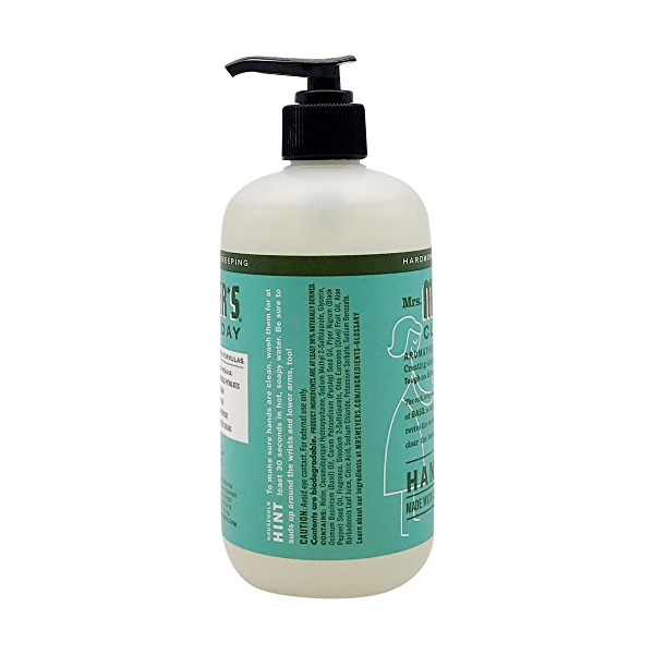 Basil Liquid Hand Soap, 12.5 fl oz 3