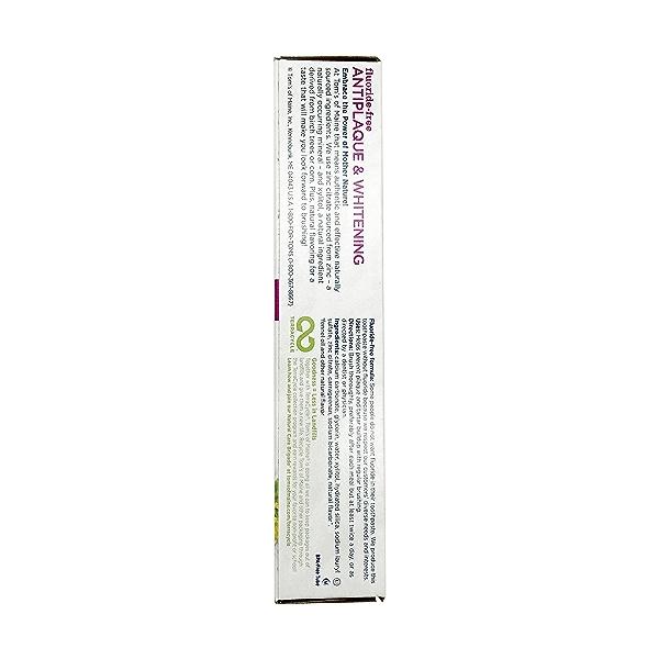Fennel Whitening Anti Plaque Toothpaste, 5.5 oz 2