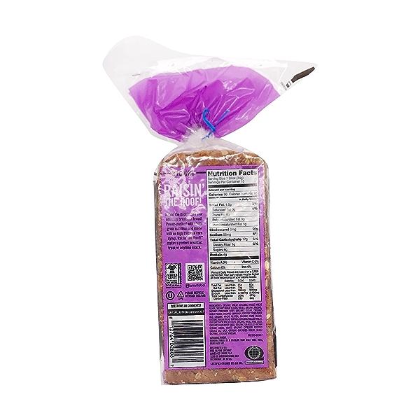 Organic Raisin The Roof Bread, 18 oz 3
