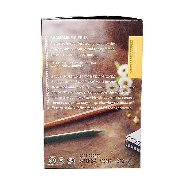 Chamomile Citrus Herbal Tea, 1.59 oz 4