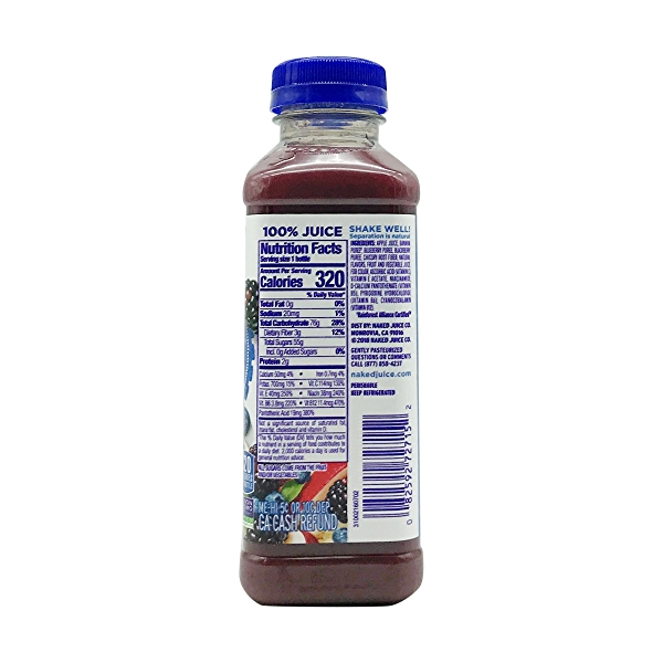 100% Juice Boosted Smoothie, 15.2 fl oz 2
