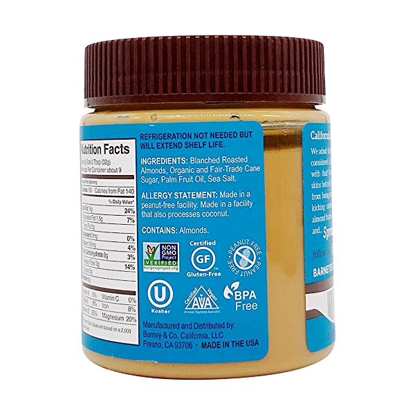 Smooth Almond Butter, 10 oz 3