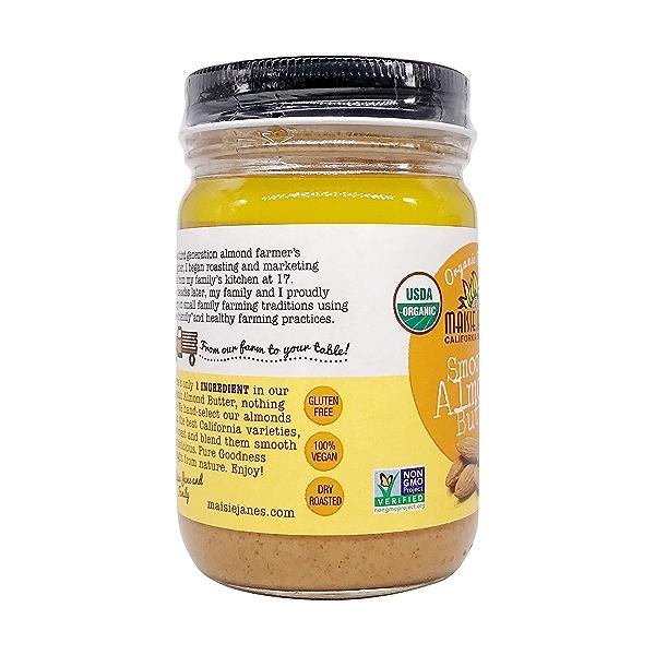 Organic Almond Butter Smooth, 12 oz 4