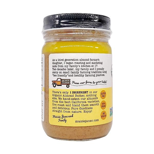 Organic Almond Butter Smooth, 12 oz 3