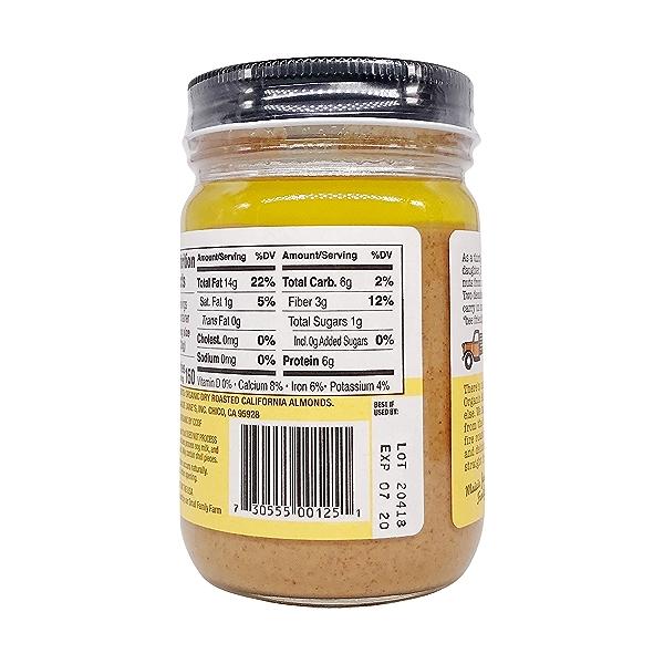Organic Almond Butter Smooth, 12 oz 6