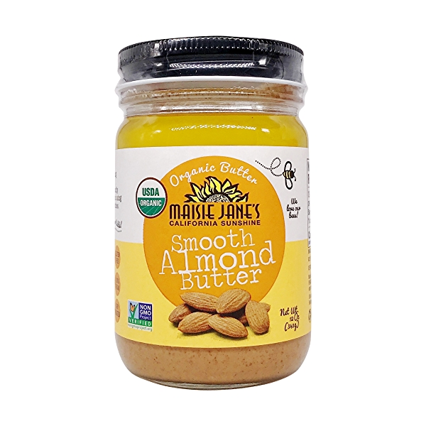 Organic Almond Butter Smooth, 12 oz 1