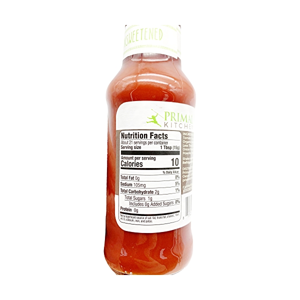 Organic Unsweetened Ketchup, 11.3 oz 4
