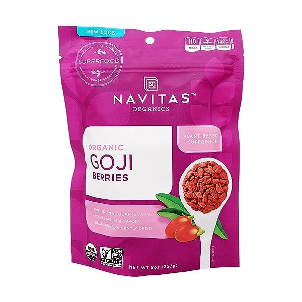 Organic Goji Berries, 8 oz 1