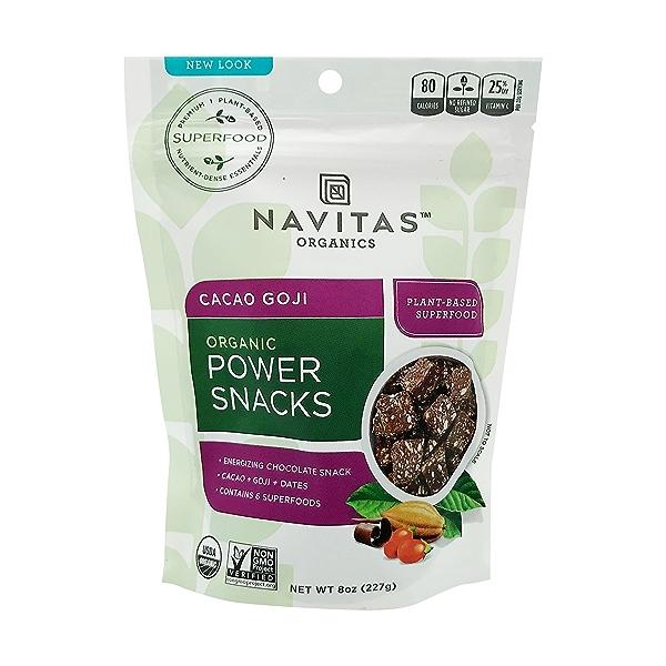 Organic Cacao Goji Power Snacks, 8 oz 1