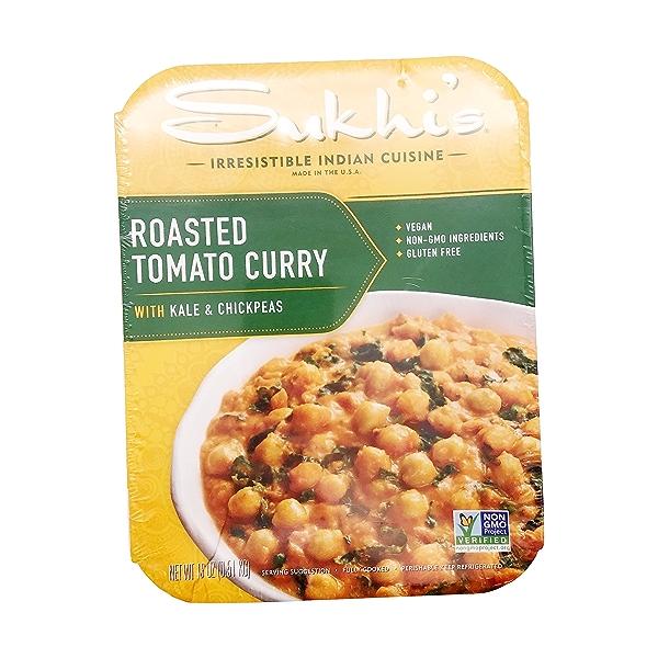 Roasted Tomato Curry Kale And Peas, 18 oz 1